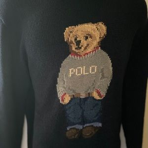 Polo by Ralph Lauren | Polo Bear Cotton Sweater L